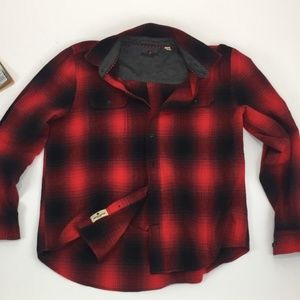 WOOLRICH Men's Buffalo Plaid Flannel Shirt XL